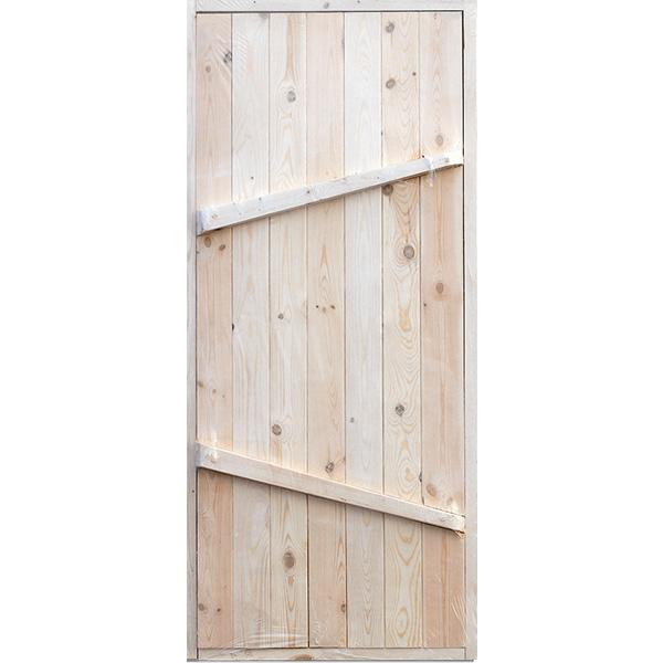 Дверь ДГ банная с коробкой 2 сорт 760х1760