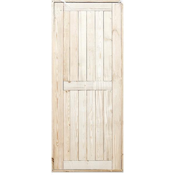 Дверь ДГ входная с коробкой хвоя 870х2070