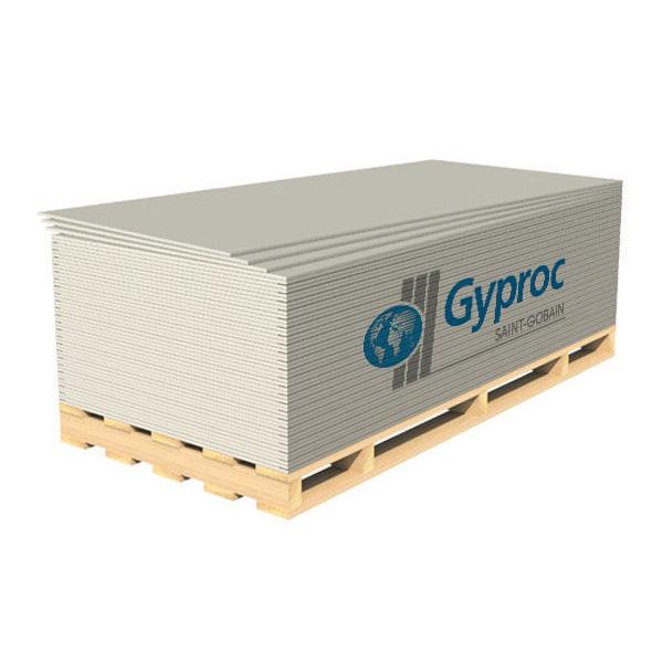 Стандартный гипсокартонный лист Gyproc ГКЛ 12,5 мм