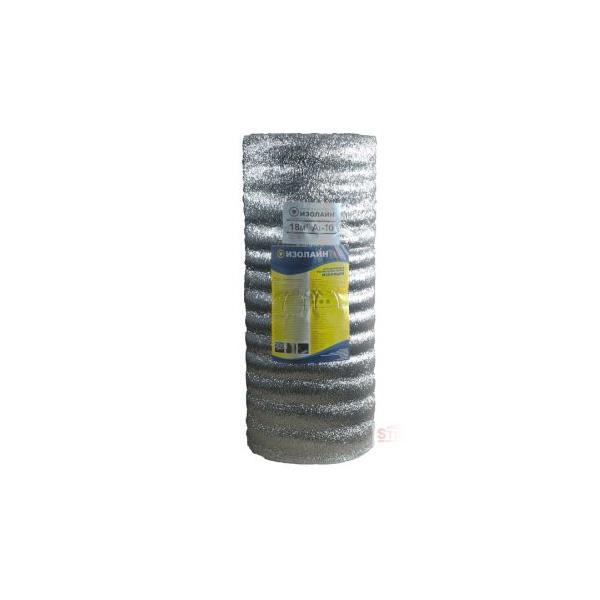 ИЗОЛАЙН 10 мм отражающая изоляция  с односторонним фольгированием 18 кв.м.