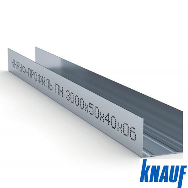 Металлический КНАУФ-профиль направляющий (ПН)